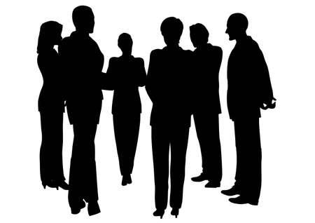 consultation: business consultation Illustration