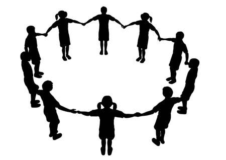 children circle 2 Vector