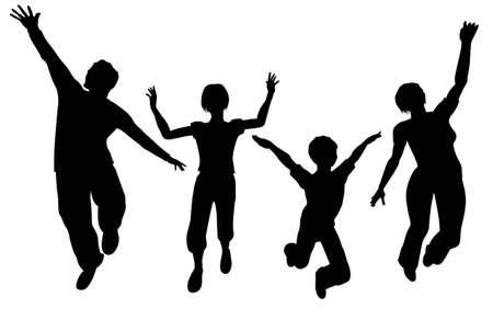 gran angular: vector salto familia gran angular