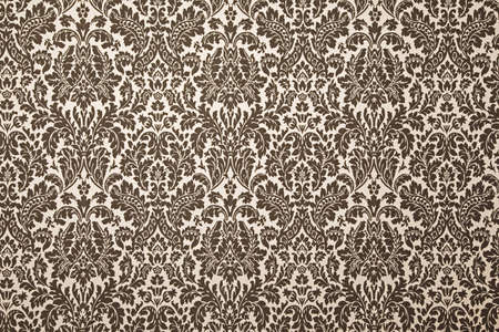 black and white pattern wallpaper. photography with uniform illumination. Vintage style photo