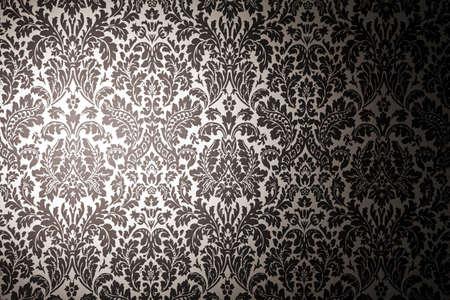classic: patr�n blanco y negro de fondo. la fotograf�a con una luz mancha. Estilo vintage