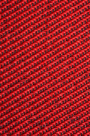 textural: red textural fabric, pattern on diagonal Stock Photo