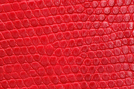 leatherette: Texture of red leatherette closeup. Repeating pattern.