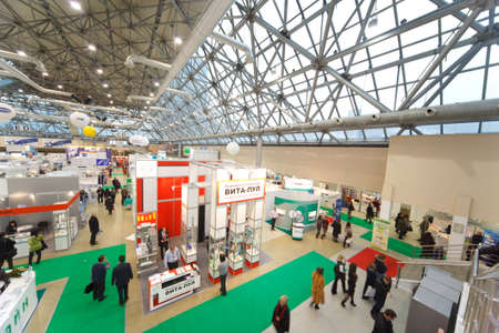 MOSCOW, RUSSIA - DECEMBER 10: The largest exhibition of medical technologies in Russia Healthcare-2009 in Moscow December 10, 2009 in Moscow, Russia.