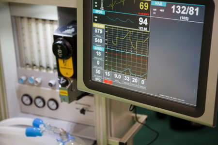 based: Resuscitation, system anapnotherapy. Monitor with health data based.