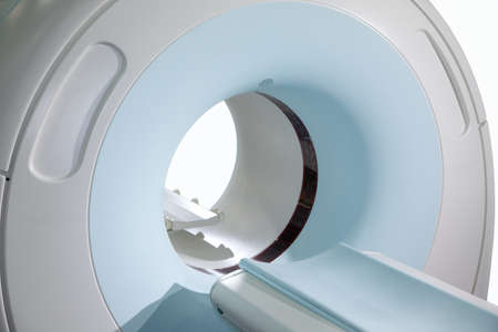 mri scan: Complete CAT Scan System in a Hospital Environment. Magnetic resonance imaging scan. Isolated. Editorial