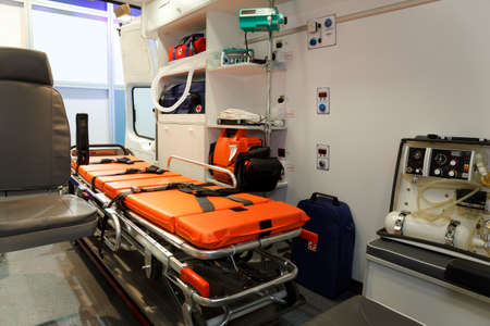 Equipment for ambulances. View from inside. Stock Photo - 12512073