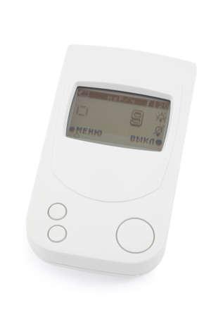 d�tection: Dispositif de d�tection de danger de rayonnement blanc sur fond blanc