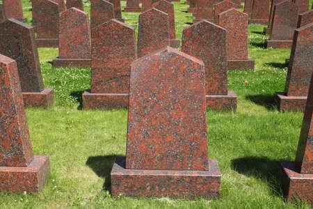 Obelisks at the military memorial Stock Photo - 12512650
