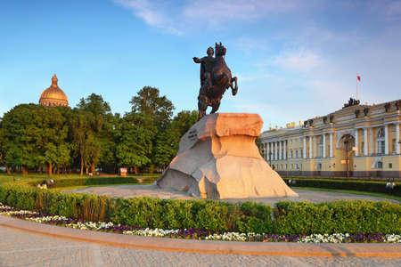 Bronze Horseman - monument to Peter Great (Saint Petersburg)