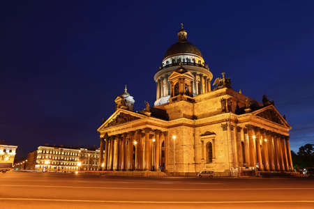 St. Isaac's Cathedral in Saint-Petersburg, Russia. Stock Photo - 12513010