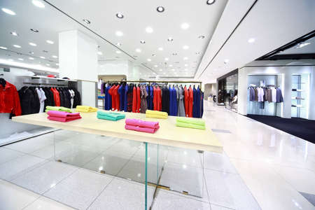 Large shop with masculine clothes Stock Photo - 12512768