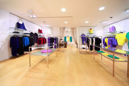 beauty shop: Department of stylish womanish clothes