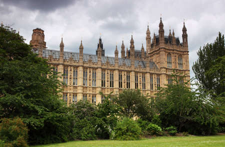 Houses of parliament or Westminster Palace  in London. A royal palace has been on the site for around 1000 years Stock Photo - 12488970