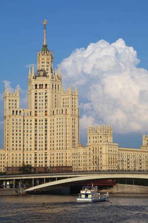 kotelnicheskaya embankment: Kotelnicheskaya Embankment Building is one of seven stalinist skyscrapers Editorial