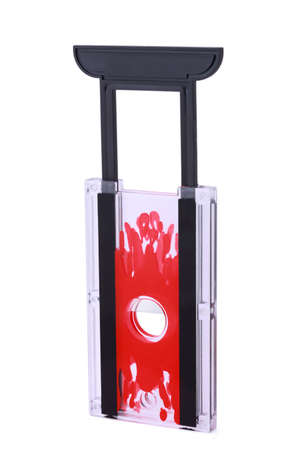 guillotine: Transparent little guillotine from  plastic