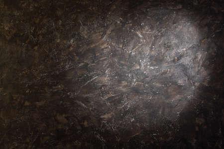 Splotch on dark brown background with spots inside studio photographers Stock Photo - 17643356
