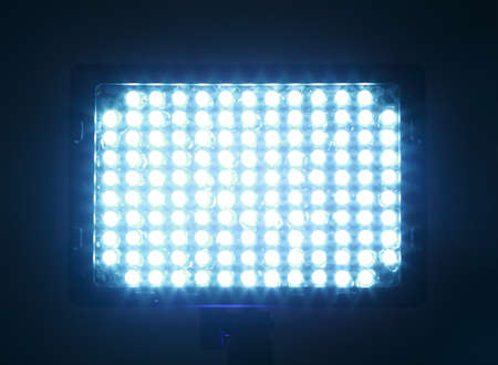 attachments to camera, constant light for video, LED, bright light Stock Photo - 17643402