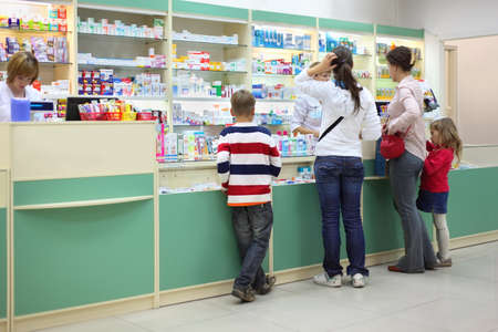 brune: MOSCOW - SEPTEMBER 26: Buyers in pharmacy, on September 26, 2010 in Moscow, Russia. In Russia buyers of products with codeine can begin to vet directly in pharmacies, chief narcologist of Ministry of Health Eugene Brune says.