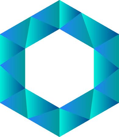 Hexagram Logo Arts