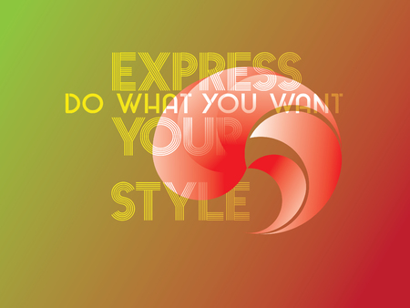 Express Your Style Çizim