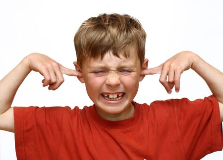Kid suffers noise