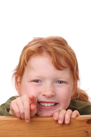 Portrait of a happy young girl Stock Photo - 12030143