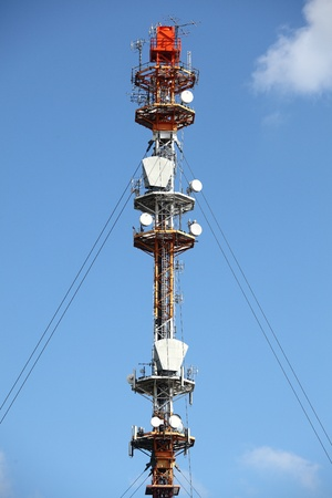 Telecommunication tower photo