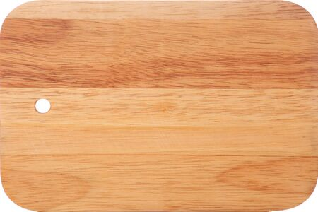 Wooden board on white background Stock Photo - 15694910