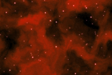 starfield: Blurry deep space background filled with nebulae and shining stars