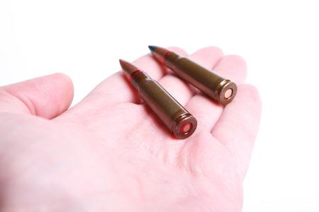 bullet proof: Bullets Stock Photo