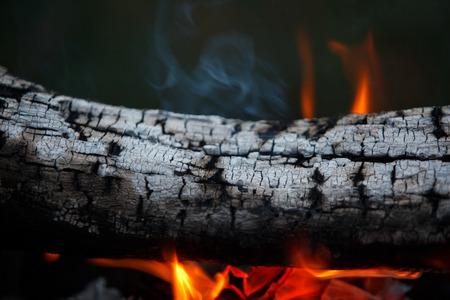 gas fireplace: fire