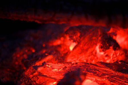 smolder: embers smolder