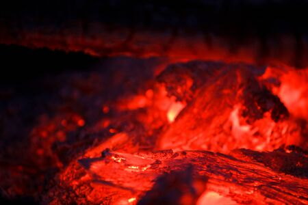 embers smolder