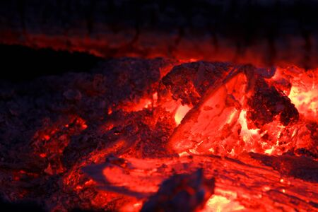 embers: embers smolder