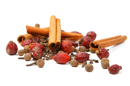 clove: spice clove cinnamon and pepper