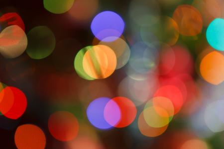 chrismas: chrismas lights bokeh Stock Photo