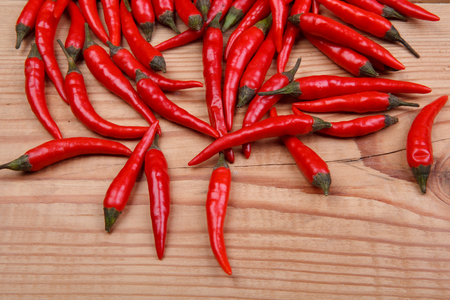 chillies: hot chillies