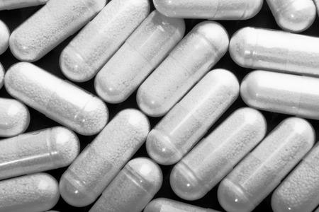 glucosamine: white pills
