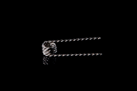 spirale: vape Spule Kanthal schwarz Lizenzfreie Bilder