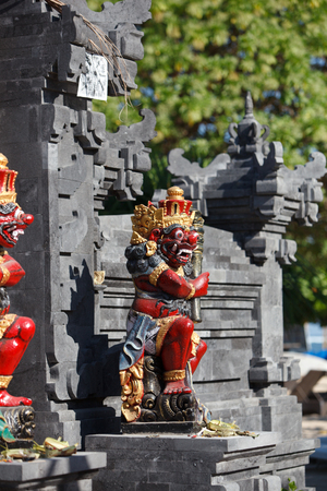 Balinese figures of gods Stok Fotoğraf