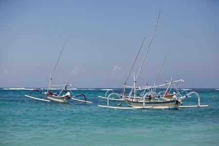 fisherman boats in the ocean