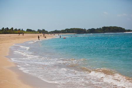 ocean beach shore waves