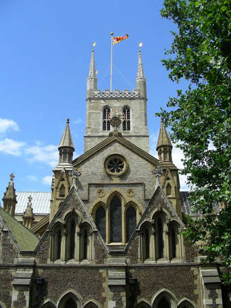 southwark: Southwark cathedral in London, UK           Stock Photo
