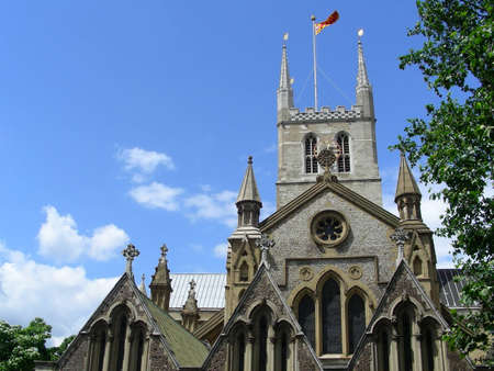 southwark: Southwark cathedral in London, UK