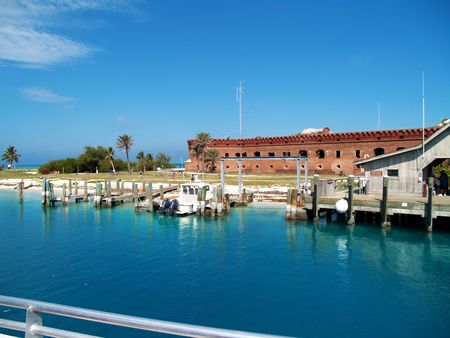 dry tortugas: Fort Jefferson, Dry Tortugas, Florida      Stock Photo