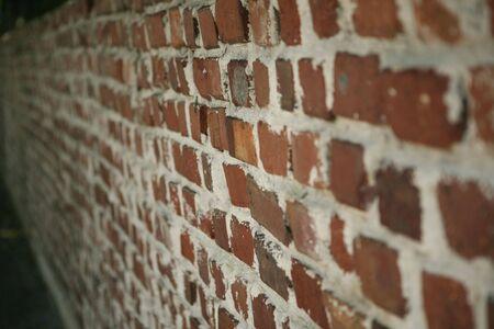 hemingway: Brick Wall around Hemingway House in Key West Stock Photo