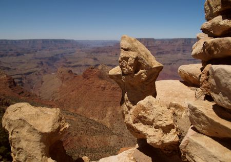 Panorama of Grand Canyon, Arizona, USA    Stock Photo - 3871467