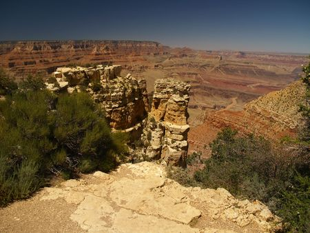 Panorama of Grand Canyon, Arizona, USA Stock Photo - 3871469