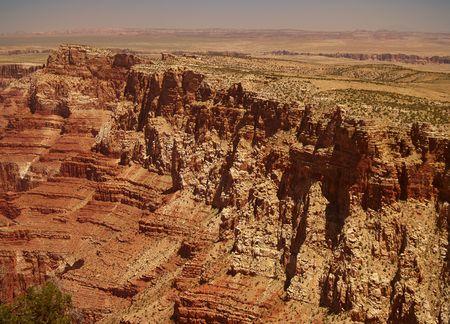 Panorama of Grand Canyon, Arizona, USA        Stock Photo - 3871472